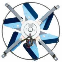 "Cooling & Heating - Perma-Cool - Perma-Cool High Performance Electric Cooling Fan 13"" Fan Push/Pull 3000 CFM - Paddle Blade"