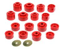 Exhaust System - Prothane Motion Control - Prothane Motion Control Polyurethane Body Mount Bushing Red - Ford Compact SUV 2001-05