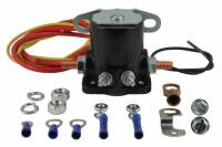 Starters and Components - Starter Solenoids - Tuff-Stuff Performance - Tuff Stuff Performance Hot Start Starter Solenoid Remote Terminals/Wiring Black - GM Fullsize Starters