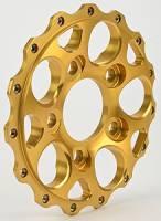 "Weld Wheels - Weld Racing Wheel Centers - Weld Racing - Weld Racing Magnum 2.0 Wheel Center Section 5 x 4.75"" Bolt Pattern Aluminum Gold Anodize - Each"