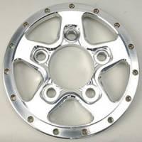 """Weld Wheels - Weld Racing Wheel Centers - Weld Racing - Weld Racing Alumastar 2.0 Wheel Center Section 5 x 4.50"""" Rear Wheel Center Aluminum - Polished"""