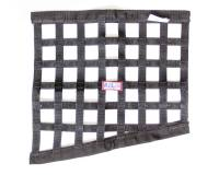 "Ribbon Window Nets - Drag Window Nets - RJS Racing Equipment - RJS Racing Equipment SFI-27.1 Window Net 1"" Webbing Triangle Black - Drag Race"