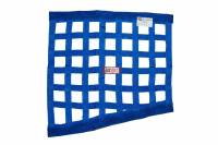 "Ribbon Window Nets - Drag Window Nets - RJS Racing Equipment - RJS Racing Equipment SFI-27.1 Window Net 1"" Webbing Triangle Blue - Drag Race"
