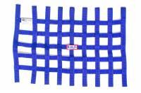 "Ribbon Window Nets - 18"" x 24"" Ribbon Window Nets - RJS Racing Equipment - RJS Ribbon Window Net - Blue - 18"" x 24"""