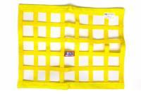 "Ribbon Window Nets - 18"" x 24"" Ribbon Window Nets - RJS Racing Equipment - RJS Ribbon Window Net - Yellow - 18"" x 24"""