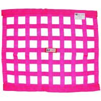 "Ribbon Window Nets - 18"" x 24"" Ribbon Window Nets - RJS Racing Equipment - RJS Racing Equipment SFI-27.1 Window Net 1"" Webbing 18 x 24"" Rectangle Pink - Each"