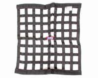 "Window Nets - Ribbon Window Nets - RJS Racing Equipment - RJS Black Ribbon Window Net - 24"" x 24"""