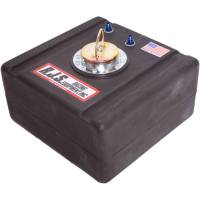 "Air & Fuel System - RJS Racing Equipment - RJS Racing Equipment Economy Fuel Cell 11 gal 17-1/2 x 17-1/2 x 9"" Tall 8AN Male Outlet - Foam"