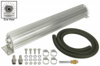 "Drivetrain - Derale Performance - Derale 1 Pass 18"" Heat Sink Transmission Cooler Kit"