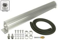 "Drivetrain - Derale Performance - Derale 1 Pass 24"" Heat Sink Transmission Cooler Kit"
