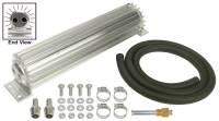 "Oil Cooler - Linear Oil Coolers - Derale Performance - Derale 2 Pass 12"" Heat Sink Transmission Cooler Kit"