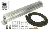 "Oil Cooler - Linear Oil Coolers - Derale Performance - Derale 2 Pass 18"" Heat Sink Transmission Cooler Kit"
