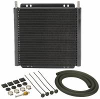 Oil Cooler - Oil Coolers - Derale Performance - Derale 24 Row Series 8000 Plate & Fin Transmission Cooler Kit