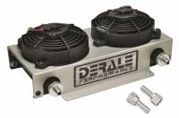Oil Cooler - Oil Coolers - Derale Performance - Derale 19 Row Hyper-Cool Dual Cool Remote Cooler, -6AN