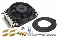 Drivetrain - Derale Performance - Derale 16 Pass Electra-Cool Remote Transmission Cooler Kit -6AN Inlets
