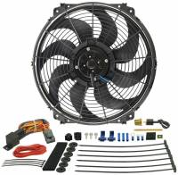 "Electric Fans - Derale Electric Fans - Derale Performance - Derale 16"" Tornado Electric Fan & 180°F Dual Probe Fan Controller Kit"