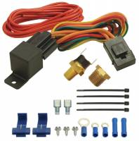 Fan Parts & Accessories - Electric Fan Wiring & Switches - Derale Performance - Derale 180°F Fan Switch Relay Kit