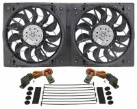 "Cooling & Heating - Derale Performance - Derale 13"" Dual High Output RAD Fans Puller"