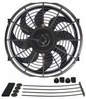 "Cooling & Heating - Derale Performance - Derale 12"" Dyno-Cool Curved Blade Electric Fan"