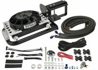 Drivetrain - Derale Performance - Derale 87-06 Wrangler Transmission Cooler Kit