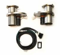 Exhaust System - Doug's Headers - Doug's Electric Exhaust Cut-Outs - 2.50 (Pair)