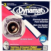 "Sound and Heat Insulating - Sound Deadeners - Dynamat - Dynamat Extreme 2 Sheet 10"" x 10"""