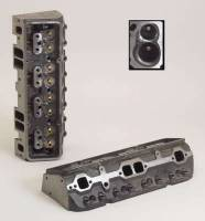 Cast Iron Cylinder Heads - SB Chevy - Dart Cast Iron Cylinder Heads - SBC - Dart Machinery - Dart SB Chevy 200cc I/E Platinum Head 72cc S/P 2.02/1.60