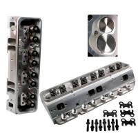 Aluminum Cylinder Heads - SB Chevy - Dart Aluminum Heads - SBC - Dart Machinery - Dart SB Chevy 200cc Pro-1 Head 64cc S/P 2.02/1.60 Assembled