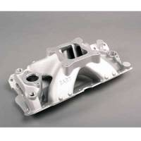 Air & Fuel System - Dart Machinery - Dart Intake Manifold - SB Chevy - Std. Deck, Large Port Location, 4150 Flange