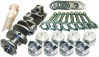 """Recently Added Products - Eagle Specialty Products - Eagle Specialty Products 406 CID Rotating Assembly Cast Crank Hypereutectic Pistons 3.750"""" Stroke - 4.165"""" Bore"""