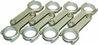 Connecting Rods - Connecting Rods - BB Chevy - Eagle Specialty Products - Eagle BBC 4340 Forged H-Beam Rods 6.385 w/ARP 2000