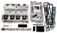 Engine Kits and Rotating Assemblies - Engine Top End Kits - Edelbrock - Edelbrock SB Chevy Power Package Top End Kit