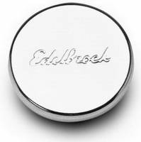 Valve Cover Parts & Accessories - Valve Cover Oil Fill Caps - Edelbrock - Edelbrock Oil Fill Hole Plug - Chrome