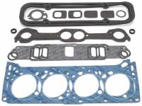 Cylinder Head Gaskets - Cylinder Head Gaskets - Pontiac - Edelbrock - Edelbrock Cylinder Head Gasket Set - Includes Intake, Exhaust, Head, Waterneck, Distributor, Valve Cover Gaskets