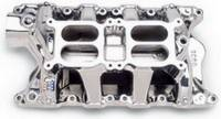 Ford F-150 Air and Fuel - Ford F-150 Intake Manifolds - Edelbrock - Edelbrock RPM Air Gap Dual-Quad Intake Manifold - Endurashine