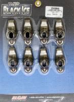 "Recently Added Products - Elgin Industries - Elgin Industries Black Ice Rocker Arm 3/8"" Stud Mount 1.50 Ratio OEM/Long Slot - Steel"