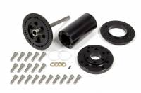 "Fuel Pump Components and Rebuild Kits - Fuel Pump Belt Drive Pulleys - Enderle - ENDERLE 5"" Long Fuel Pump Extension Quick Release Aluminum Black Anodize - Hex Driven Fuel Pump"