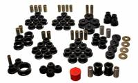 Chevrolet Corvette Suspension - Chevrolet Corvette Suspension Bushing - Energy Suspension - Energy Suspension Hyper-Flex System - Black