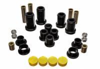 Control Arm Bushing Sets - Polyurethane Control Arm Bushings - Energy Suspension - Energy Suspension Control Arm Bushing Set - Black