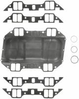 Engine Gaskets and Seals - Valley Pan Gaskets - Fel-Pro Performance Gaskets - Fel-Pro BB Chrysler Intake Gaskets 361-383-400.1961-78