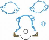 Timing Cover Gaskets - Timing Cover Gaskets & Seals - SB Ford - Fel-Pro Performance Gaskets - Fel-Pro Timing Cover Gasket Set