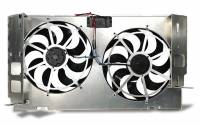 Dodge Ram 2500HD/3500 Heating and Cooling - Dodge Ram 2500HD/3500 Cooling Fans - Electric - Flex-A-Lite - Flex-A-Lite Direct-Fit Dual Electric Fans - 1994-2002 Dodge Ram Diesel