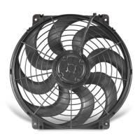 """Electric Fans - Flex-a-Lite Electric Fans - Flex-A-Lite - Flex-A-Lite 16"""" S-Blade Pusher, Puller Electric Fan - CFM: 1980 - Amp Draw: 13.5"""