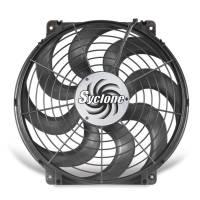 """Electric Fans - Flex-a-Lite Electric Fans - Flex-A-Lite - Flex-A-Lite 16"""" Syclone S-Blade Pusher, Puller Electric Fan - CFM: 2500 - Amp Draw: 17"""