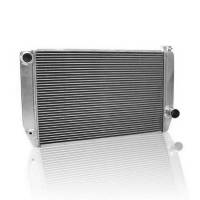 "Griffin Radiators - Griffin Chevy Style Radiators - Griffin Thermal Products - Griffin Pro Series Aluminum Radiator - 16""x 27.5"" x 3"" - Chevy"
