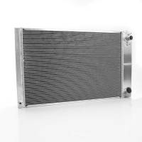 "Griffin Thermal Products - Griffin Thermal Products Direct Fit Radiator 28"" W 19"" H x 2-11/16"" D Pass Inlet/Driver Outlet Aluminum - Natural"