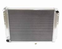"Recently Added Products - Griffin Thermal Products - Griffin Thermal Products Direct Fit Radiator 22-1/2"" W 19"" H x 2-11/16"" D Pass Inlet/Driver Outlet Aluminum - Natural"