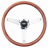"""Street Performance / Tuner Steering Wheels - Grant Collector's Edition Steering Wheels - Grant Products - Grant Collector's Edition Steering Wheel - 14 1/2"""" - Walnut"""