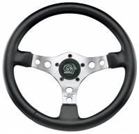 """Street Performance / Tuner Steering Wheels - Grant GT Steering Wheels - Grant Steering Wheels - Grant Formula GT Steering Wheel - 15"""" - Black / Chrome"""