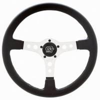 """Street Performance / Tuner Steering Wheels - Grant GT Steering Wheels - Grant Steering Wheels - Grant Formula GT Steering Wheel - 15"""" - Black / White"""
